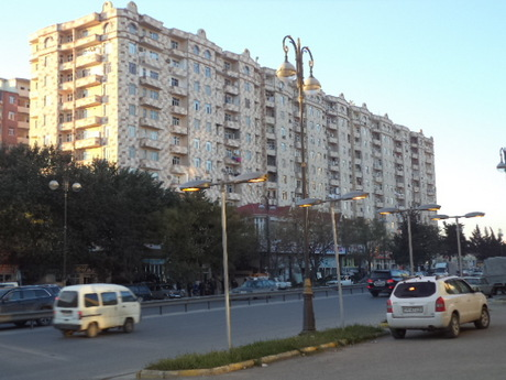 3-комн. новостройка - м. Халглар Достлугу - 140 м²