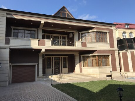 7 otaqlı ev / villa - Həzi Aslanov q. - 500 m²