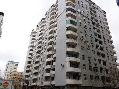 3 otaqlı yeni tikili - Nizami m. - 135 m²