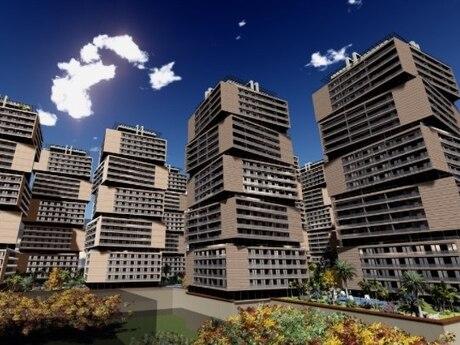 1 otaqlı yeni tikili - Elmlər Akademiyası m. - 64 m²