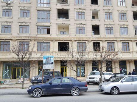 2-комн. новостройка - м. Иншаатчылар - 75 м²