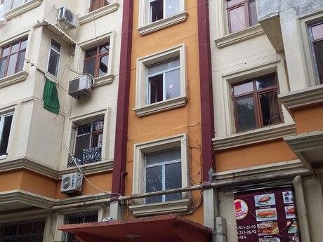 1 otaqlı köhnə tikili - Nəsimi m. - 35 m²