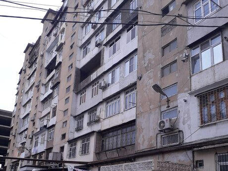 1 otaqlı köhnə tikili - Memar Əcəmi m. - 37 m²