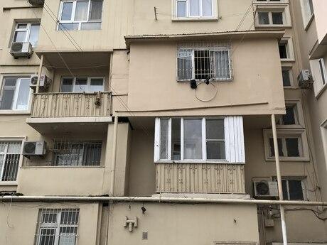 3 otaqlı köhnə tikili - Nəsimi r. - 73 m²