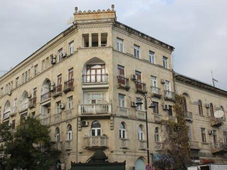 2 otaqlı köhnə tikili - Nəsimi r. - 85 m²