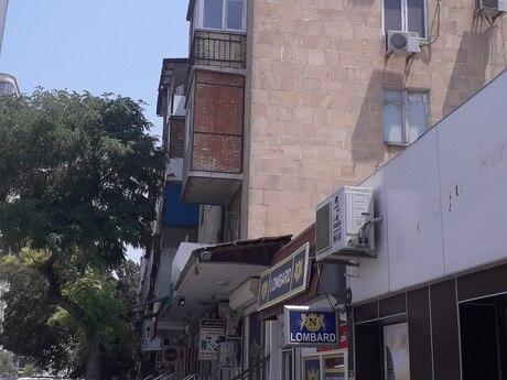 2 otaqlı köhnə tikili - Nəsimi r. - 48 m²