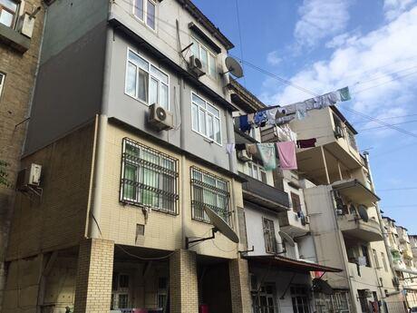 4 otaqlı köhnə tikili - Nəriman Nərimanov m. - 124 m²