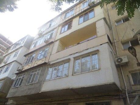 4 otaqlı köhnə tikili - Nəriman Nərimanov m. - 90 m²