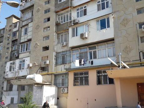3 otaqlı köhnə tikili - Qara Qarayev m. - 75 m²