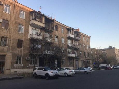 1 otaqlı köhnə tikili - Şah İsmayıl Xətai m. - 38 m²