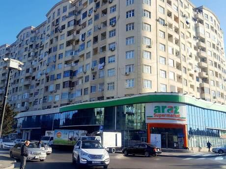 2-комн. новостройка - м. Нефтчиляр - 92 м²