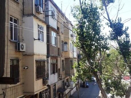 3 otaqlı köhnə tikili - Qara Qarayev m. - 85 m²