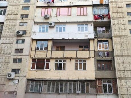 5 otaqlı köhnə tikili - Yeni Günəşli q. - 110 m²