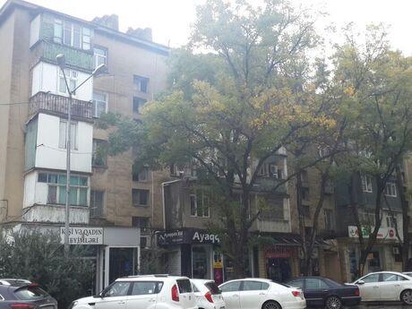 3 otaqlı köhnə tikili - Həzi Aslanov m. - 68 m²