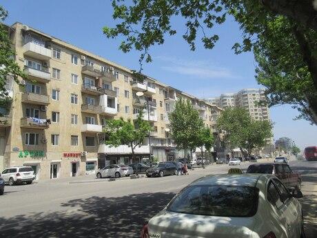 3 otaqlı köhnə tikili - Yasamal r. - 93 m²