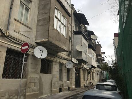 3 otaqlı köhnə tikili - Nizami m. - 85 m²