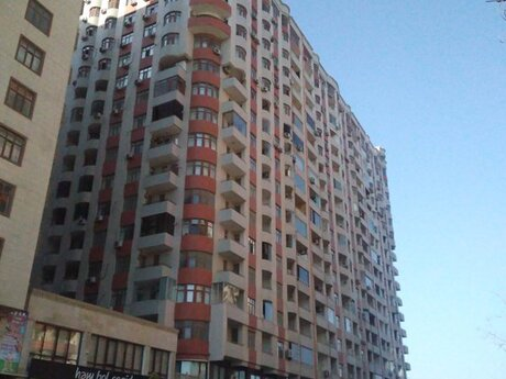 3 otaqlı yeni tikili - Nəsimi r. - 115 m²