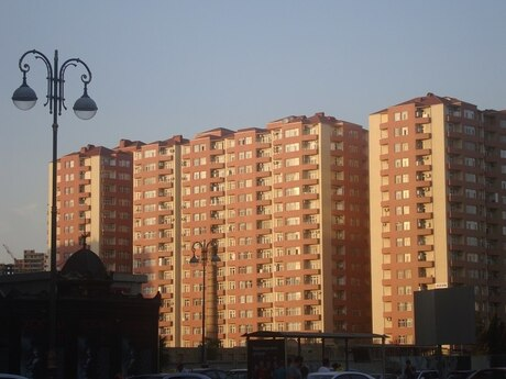 2-комн. новостройка - м. Шах Исмаил Хатаи - 55 м²