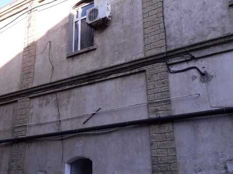 1 otaqlı köhnə tikili - Səbail r. - 37 m²