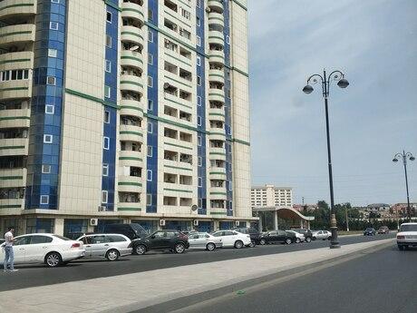 3 otaqlı yeni tikili - Bakıxanov q. - 114 m²