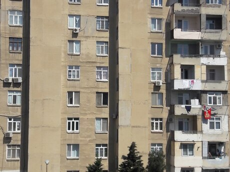 2 otaqlı köhnə tikili - Əhmədli q. - 52 m²