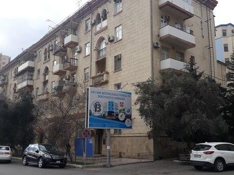 3 otaqlı köhnə tikili - Nizami m. - 65 m²