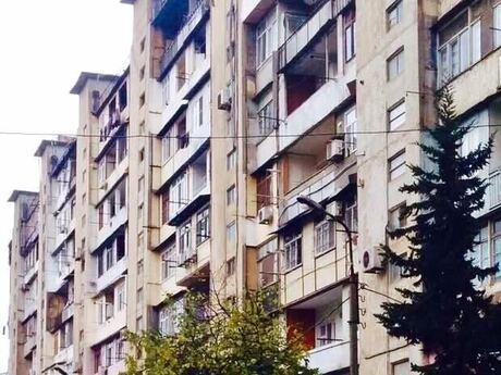 3 otaqlı köhnə tikili - Həzi Aslanov m. - 80 m²