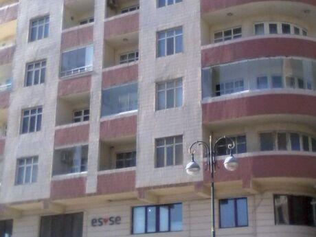 3-комн. новостройка - м. Эльмляр Академиясы - 110 м²