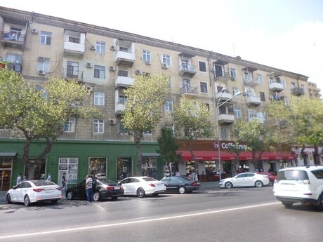 2 otaqlı köhnə tikili - Nəriman Nərimanov m. - 54 m²