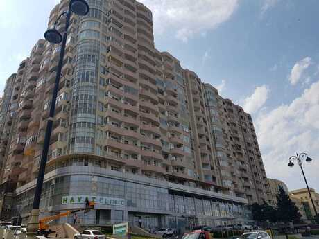 2-комн. новостройка - м. Эльмляр Академиясы - 74 м²