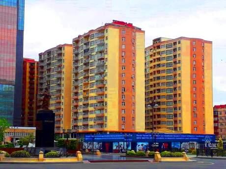 3-комн. новостройка - м. Шах Исмаил Хатаи - 92 м²