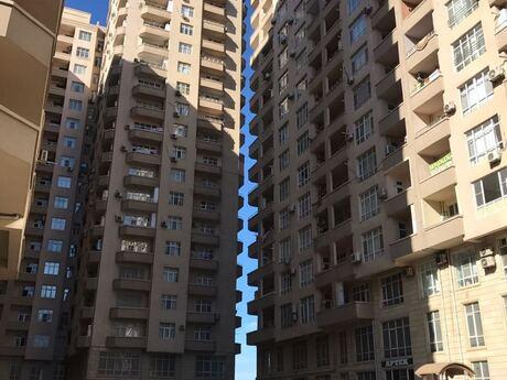 2-комн. новостройка - м. Эльмляр Академиясы - 92 м²