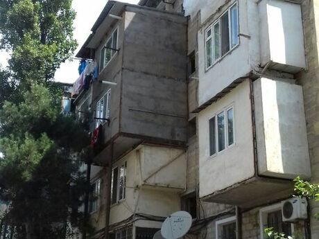 1 otaqlı köhnə tikili - İnşaatçılar m. - 30 m²