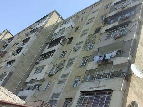 3 otaqlı köhnə tikili - Yeni Yasamal q. - 75 m²