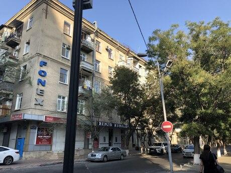 4 otaqlı köhnə tikili - Nəriman Nərimanov m. - 130 m²