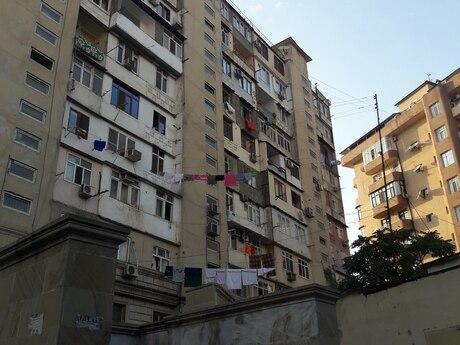 3-комн. вторичка - м. Гянджлик - 75 м²