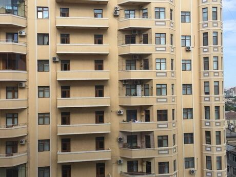 2-комн. новостройка - м. Насими - 117 м²