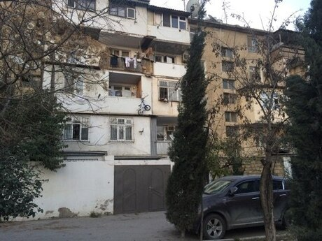 1-комн. вторичка - м. Кара Караева - 37 м²