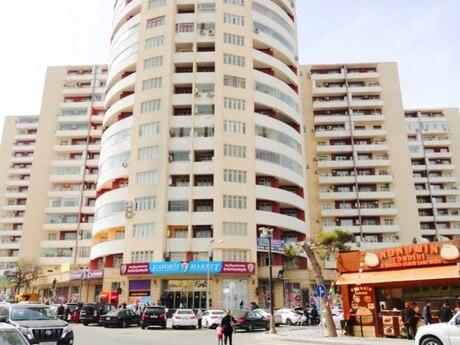 3-комн. новостройка - м. Эльмляр Академиясы - 102 м²