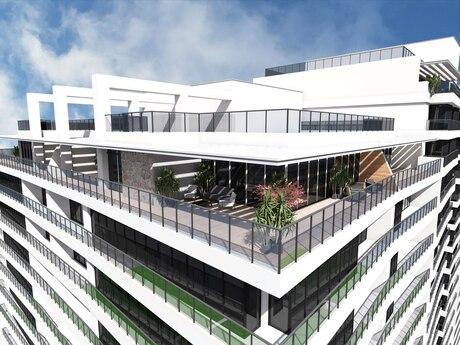 3 otaqlı yeni tikili - Şah İsmayıl Xətai m. - 138.6 m²