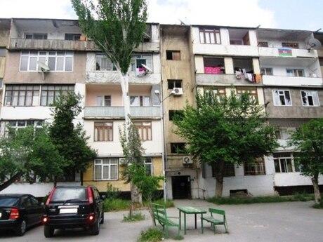 4 otaqlı köhnə tikili - Bakıxanov q. - 90 m²
