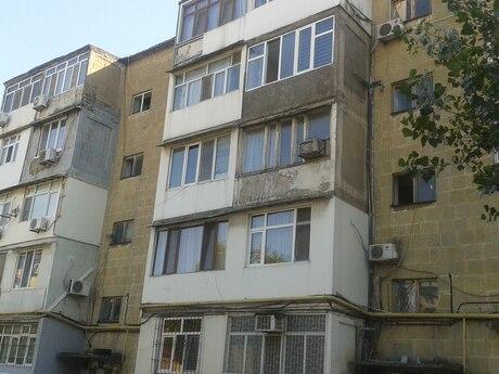 1 otaqlı köhnə tikili - İnşaatçılar m. - 32 m²