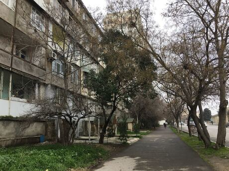 2-комн. вторичка - м. Нариман Нариманова - 45 м²
