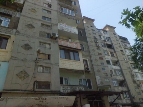 1 otaqlı köhnə tikili - Nəsimi m. - 44 m²