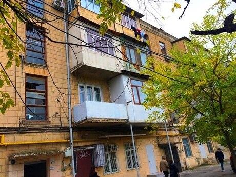 1-комн. вторичка - м. Кара Караева - 38 м²