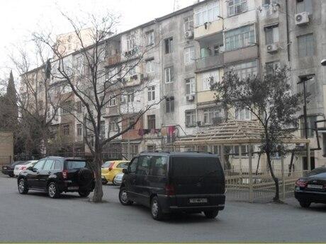 3 otaqlı köhnə tikili - Nəsimi r. - 88 m²