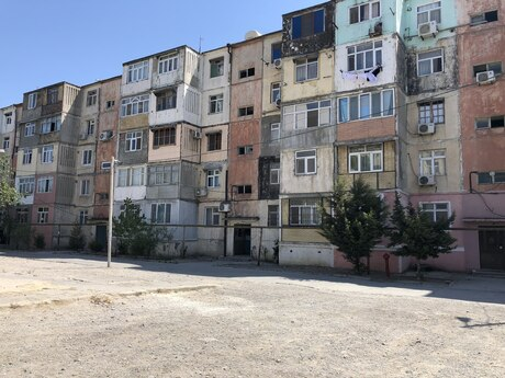 1 otaqlı köhnə tikili - Xəzər r. - 38 m²