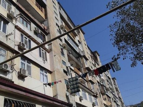 3 otaqlı köhnə tikili - Bakmil m. - 72 m²