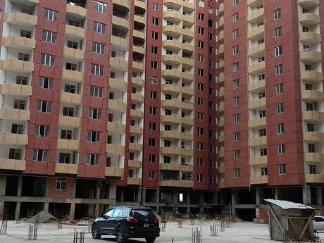 1 otaqlı yeni tikili - İnşaatçılar m. - 48 m²