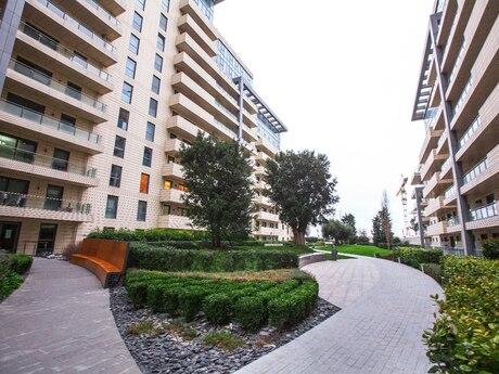4 otaqlı yeni tikili - Səbail r. - 204 m²